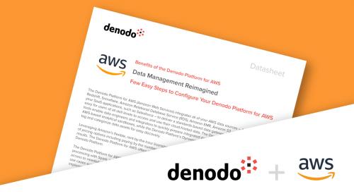 Denodo Platform for AWS | Denodo