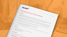 Managed Services Program Module