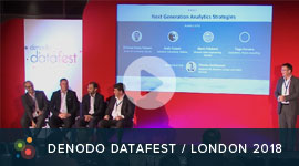 Denodo DataFest 2018 Panel: Driving Analytic Strategies with Data Virtualization