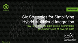 Webinar On-Demand: Six Strategies for Simplifying Hybrid, Multicloud Data Integration