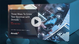 Three Ways to Grow Your Revenue with Denodo